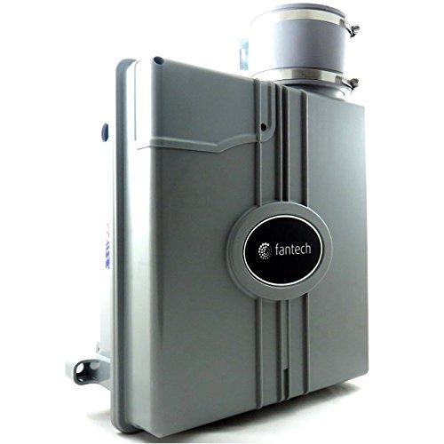 Fantech HP 190SLQ Slimline Radon Mitigation Fan With Noise Reduction