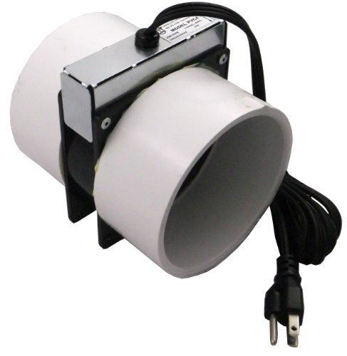 Tjernlund PVC4 Radon Mitigation Fan