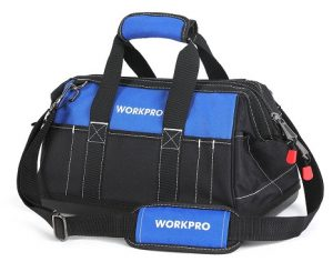 WORKPRO 16-inch Wide Mouth Tool Bag