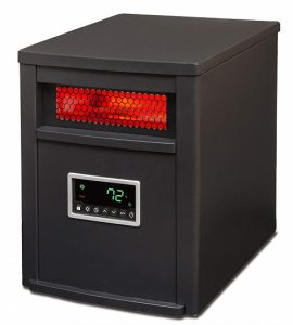 LifeSmart 6 Element wRemote Infrared Heater